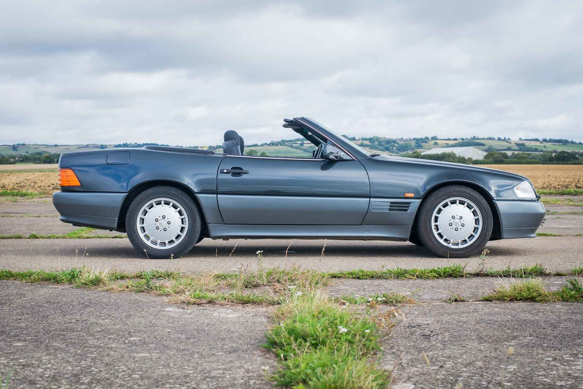 1992 Mercedes R129 500SL - Only 43k Miles - 12 months MoT For Sale (picture 2 of 6)