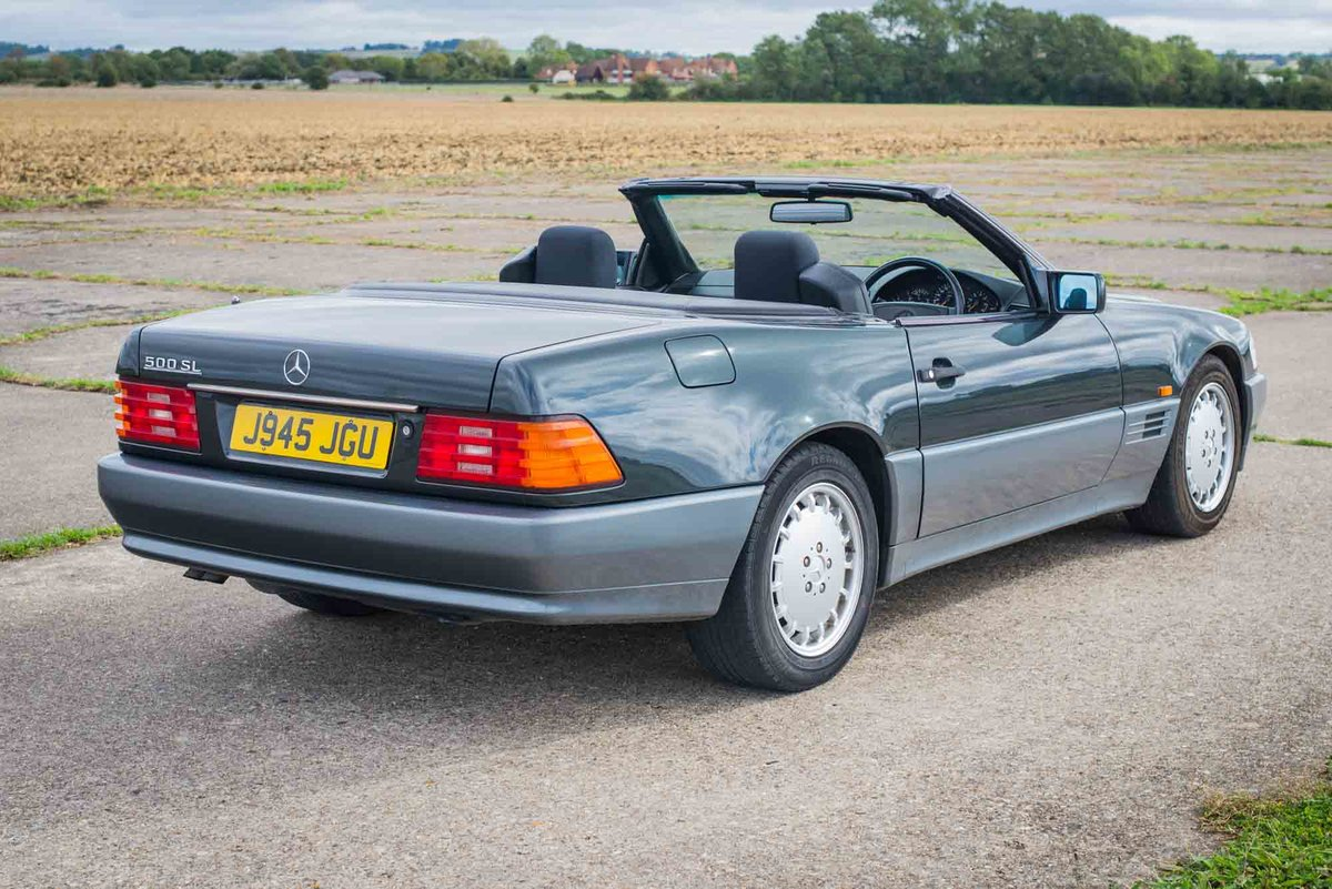 1992 Mercedes R129 500SL - Only 43k Miles - 12 months MoT For Sale (picture 3 of 6)
