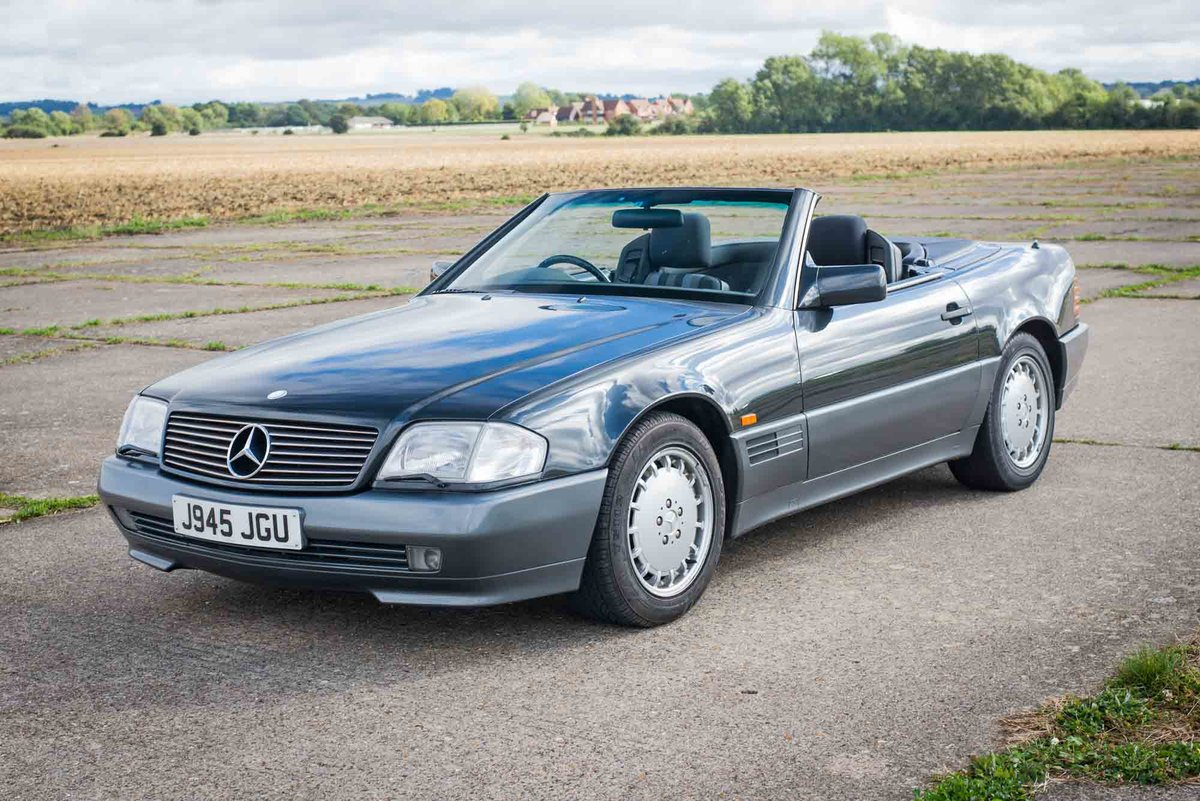 1992 Mercedes R129 500SL - Only 43k Miles - 12 months MoT For Sale (picture 4 of 6)