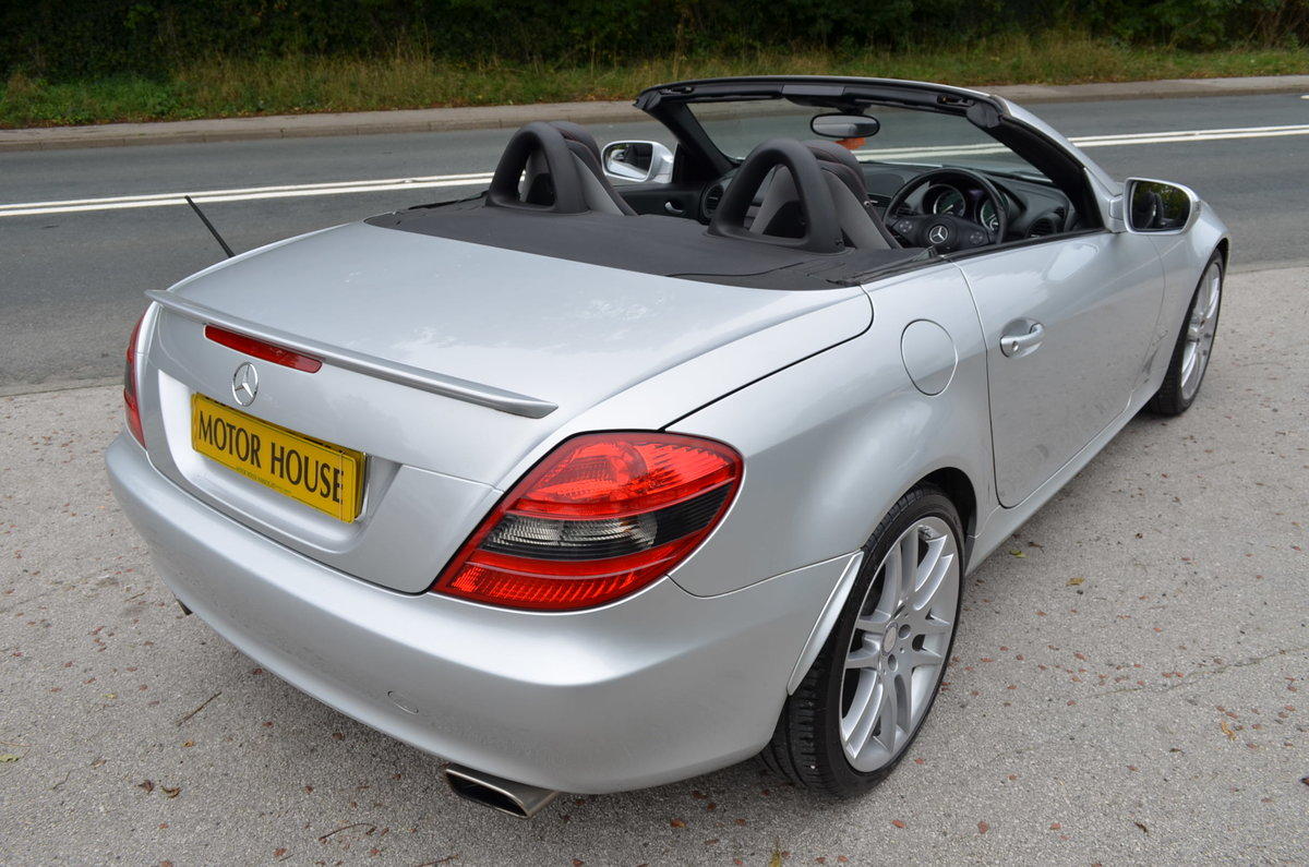 2009 Mercedes-Benz SLK 1.8 SLK200 For Sale (picture 2 of 6)
