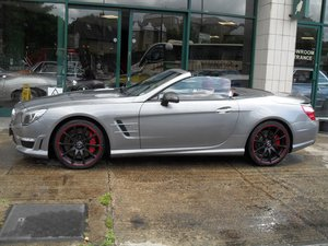 2012 Mercedes Benz SL63