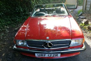 RHD 1976 Mercedes Benz 350SL, V8, R107 For Sale