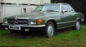 1981 Mercedes 500SL R107