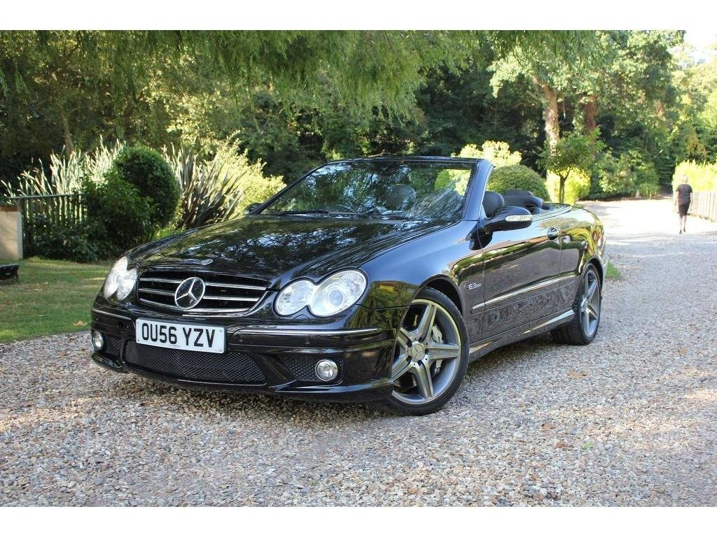 2006 Mercedes-Benz CLK 6.2 CLK63 AMG Cabriolet 7G-Tronic 2dr ULTR For Sale (picture 1 of 1)