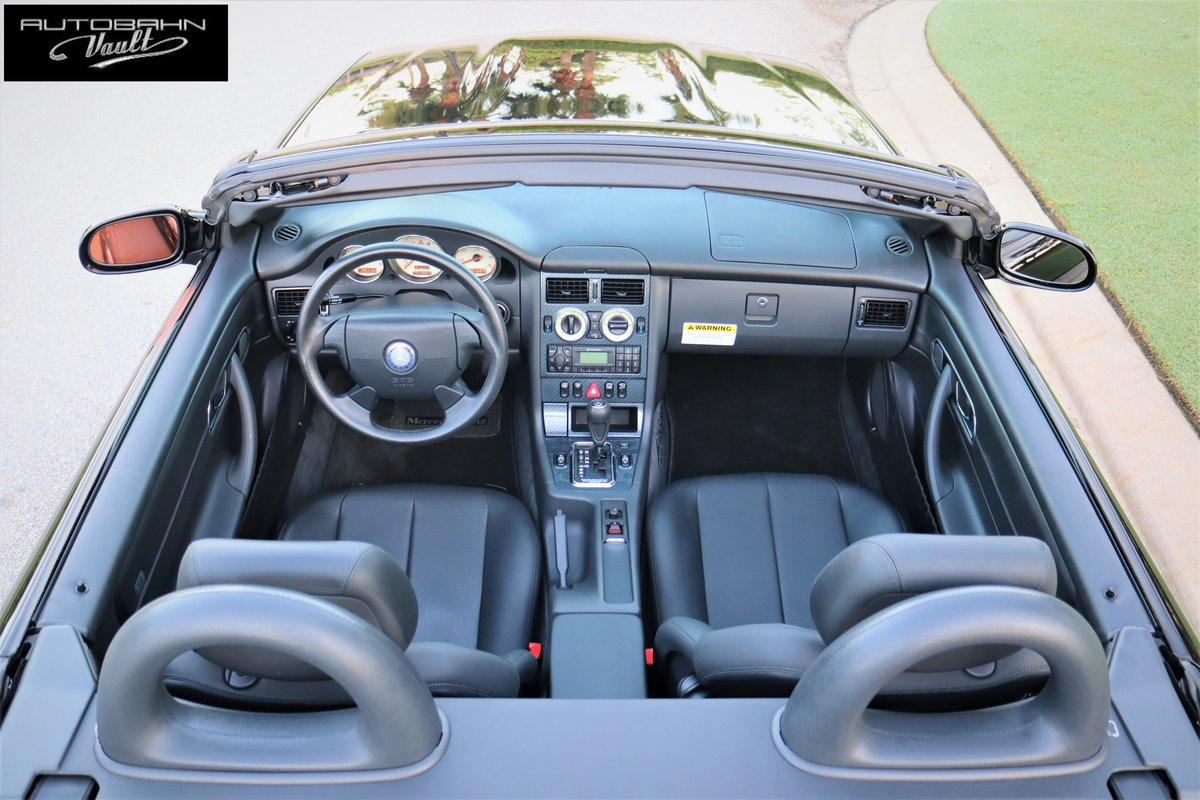 1999 Mercedes SLK230 1,194 original miles, single owner For Sale (picture 2 of 6)