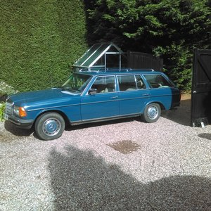 1980 Mercedes 280TE MOT until November