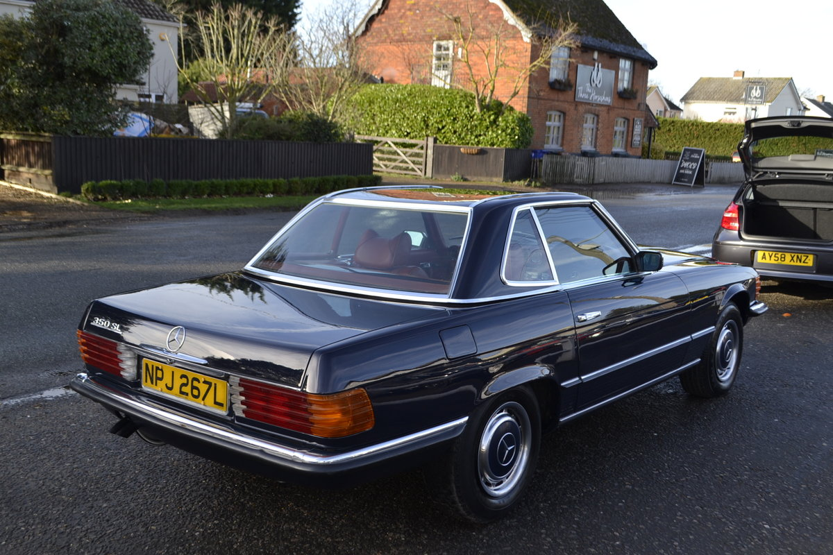1972 Mercedes SL350 with Hardtop - recently renovated  For Sale (picture 11 of 23)