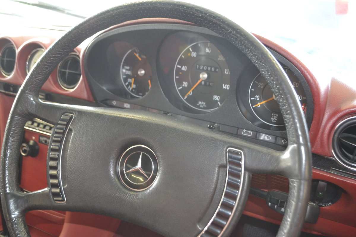 1972 Mercedes SL350 with Hardtop - recently renovated  For Sale (picture 14 of 23)