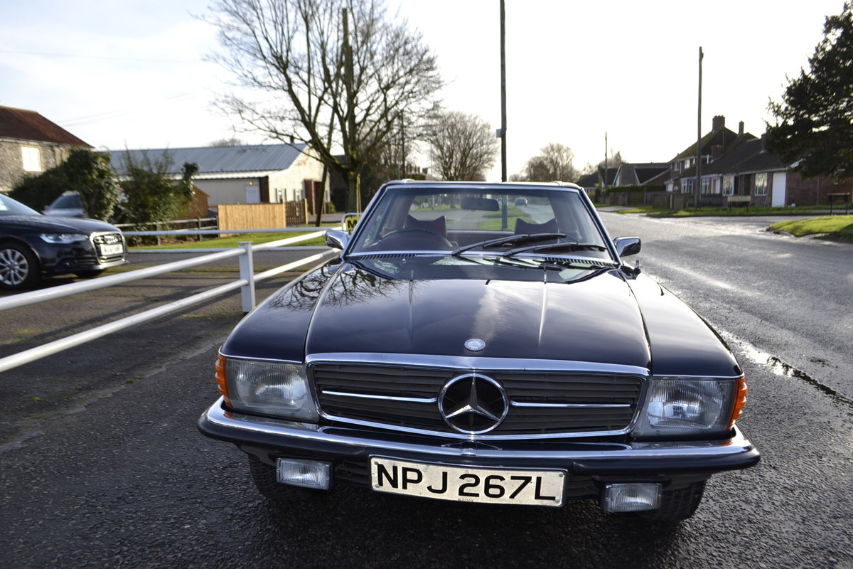 1972 Mercedes SL350 with Hardtop - recently renovated  For Sale (picture 15 of 23)
