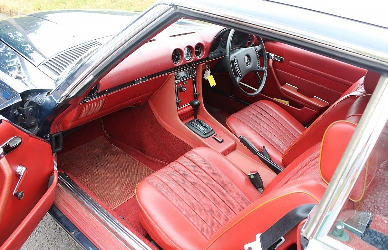 1972 Mercedes SL350 with Hardtop - recently renovated  For Sale (picture 22 of 23)