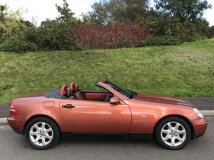 1999 (V) Mercedes SLK 230 Designo Copper 1 in Uk Super rare,