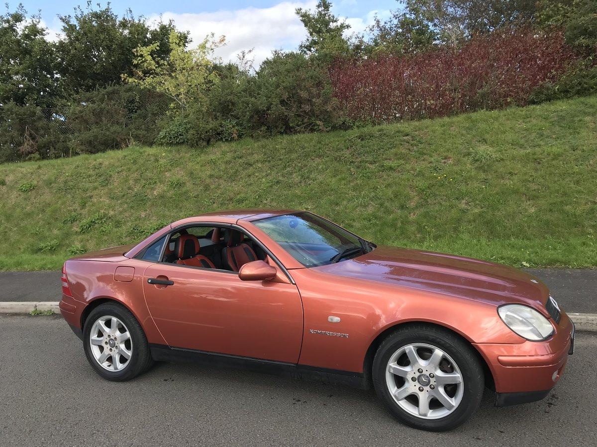 1999 (V) Mercedes SLK 230 Designo Copper 1 in Uk Super rare, SOLD (picture 2 of 6)
