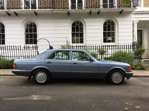 Mercedes 300 SE Auto W126 Saloon 1988 low miles 2 owners.