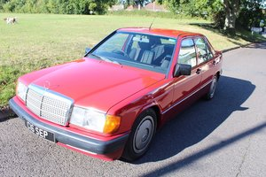 Mercedes 190D 2.5 1990 - To be auctioned 25-10-19 For Sale by Auction