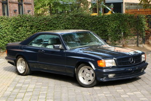 1985 Mercedes-Benz 500 SEC 69.0 AMG wide body
