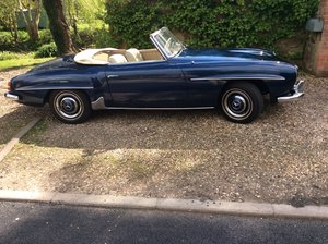 1961 Mercedes 190SL Convertible L.H.D For Sale