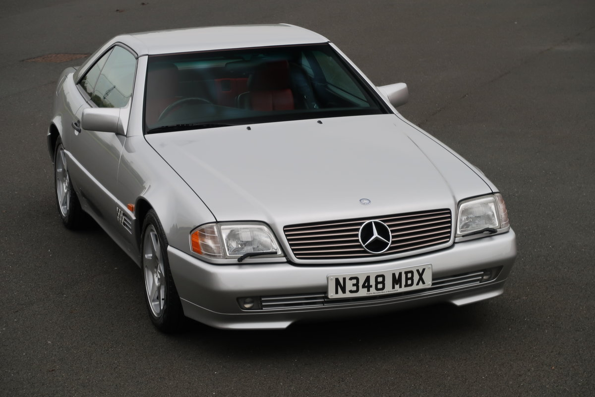 1995 MERCEDES SL500 MILLIE MIGLIA For Sale (picture 1 of 6)