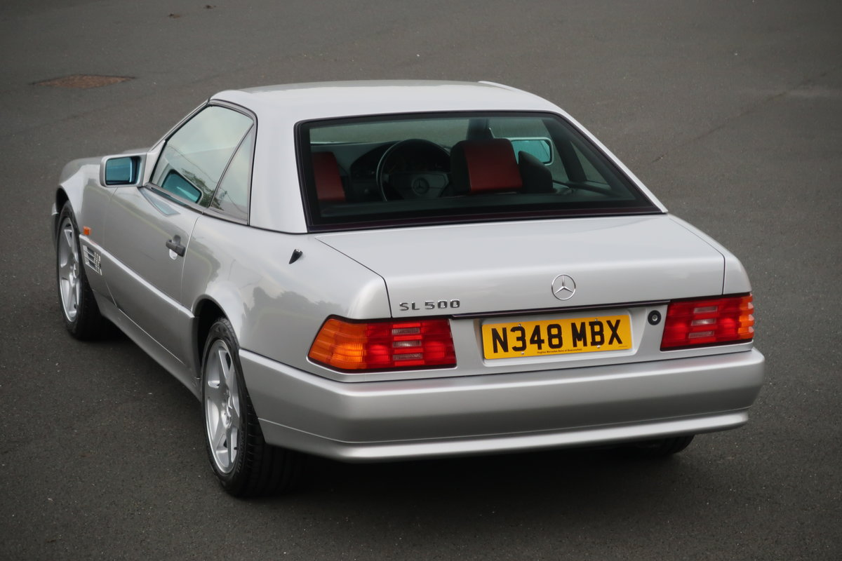 1995 MERCEDES SL500 MILLIE MIGLIA For Sale (picture 2 of 6)