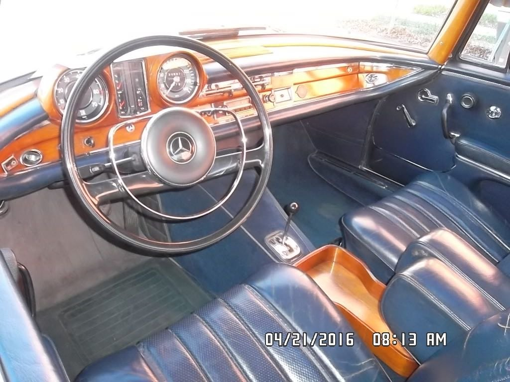 1967 Mercedes 250SE Coupé Technically full restored For Sale (picture 4 of 6)