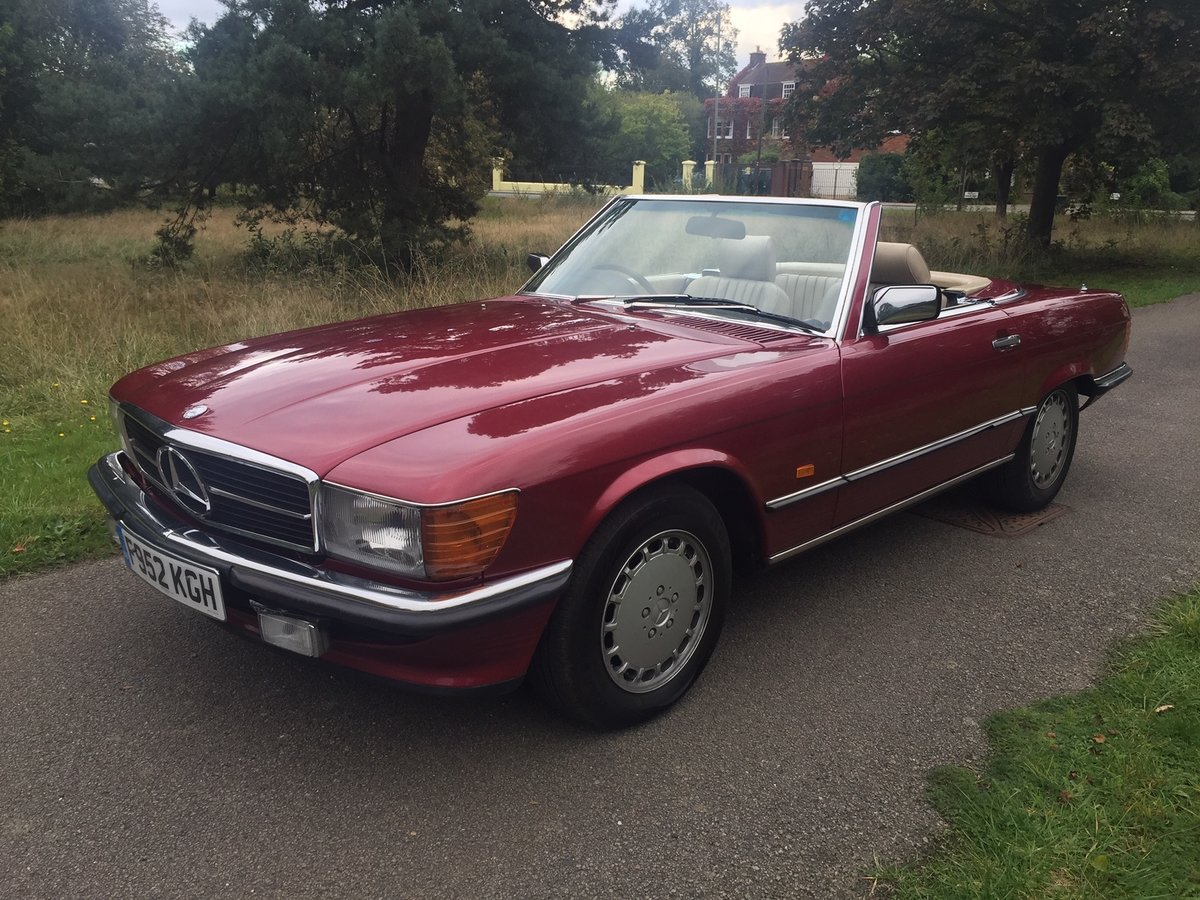 1989 Mercedes 300SL 106,000 miles For Sale (picture 2 of 6)