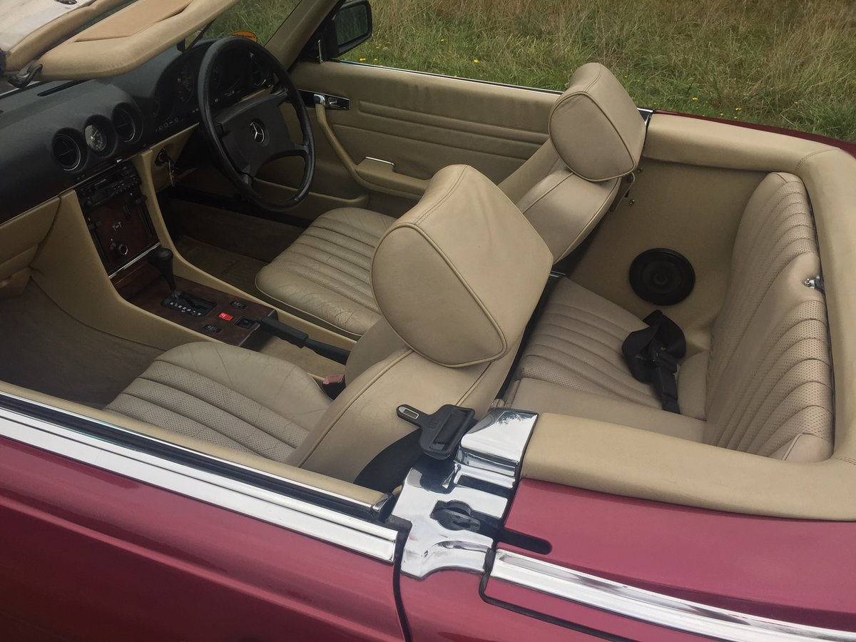 1989 Mercedes 300SL 106,000 miles For Sale (picture 4 of 6)
