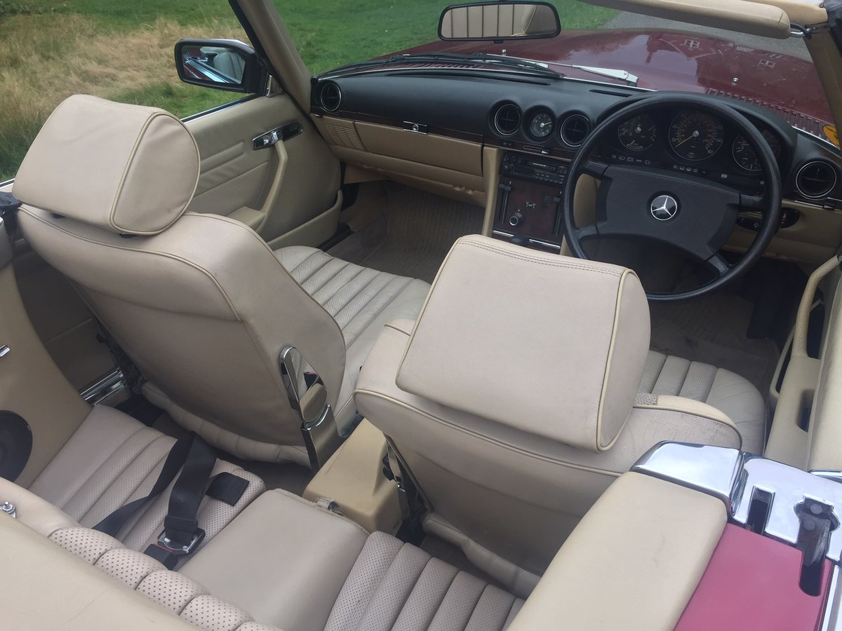 1989 Mercedes 300SL 106,000 miles For Sale (picture 5 of 6)