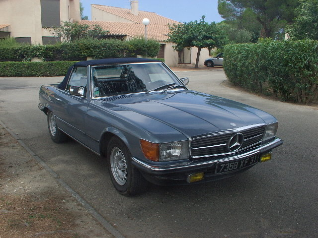 1985 Mercedes 380 SL very nice driver For Sale (picture 1 of 5)