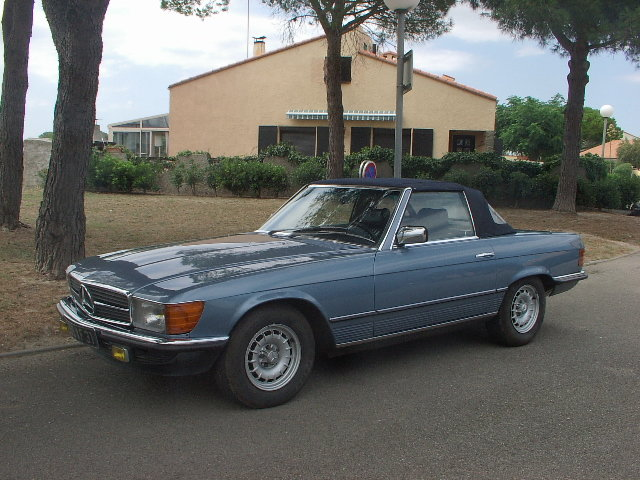 1985 Mercedes 380 SL very nice driver For Sale (picture 2 of 5)
