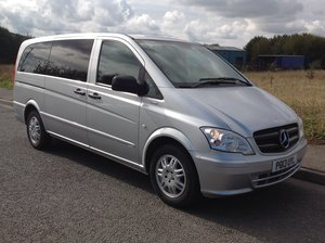 Mercedes Vito Traveliner 113 CDI 2013 1 Owner A/C 8 Seat LWB For Sale
