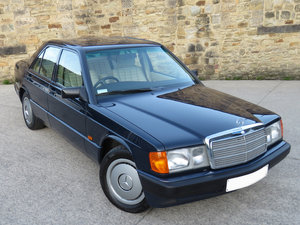 1993 Mercedes W201 190E Auto - 41K - One Owner 25 Years *SOLD* For Sale