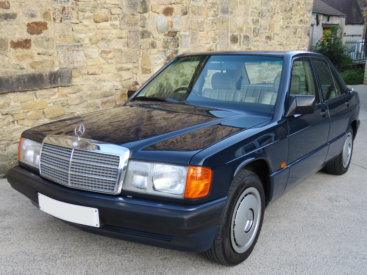 1993 Mercedes W201 190E Auto - 41K - One Owner 25 Years ...