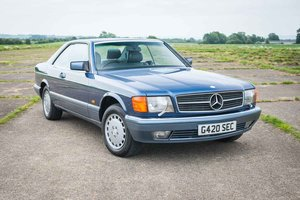 1989 Mercedes-Benz C126 420SEC - 76k Miles - Immaculate