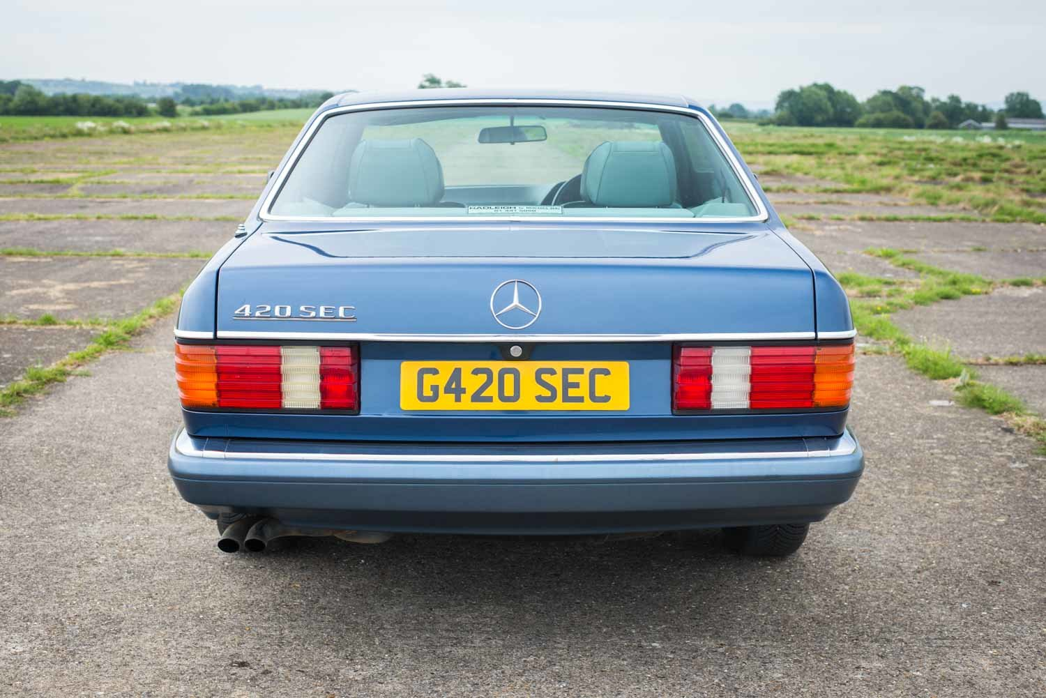 1989 Mercedes-Benz C126 420SEC - 76k Miles - Immaculate For Sale (picture 3 of 6)