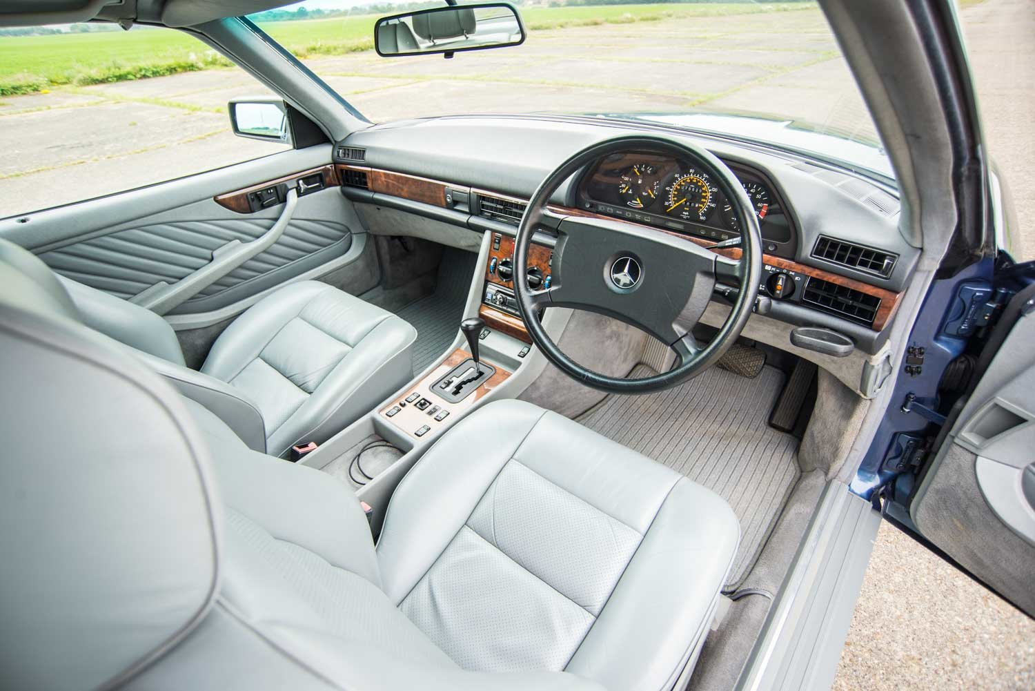 1989 Mercedes-Benz C126 420SEC - 76k Miles - Immaculate For Sale (picture 4 of 6)
