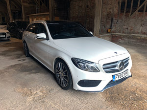 2016 Mercedes C300h AMG Premium Plus Estate (65) For Sale