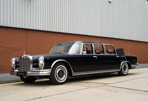 1977 Mercedes-Benz 600 Pullman State Landaulet (LHD) For Sale