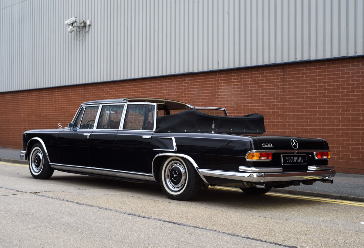 1977 Mercedes-Benz 600 Pullman State Landaulet (LHD) For Sale (picture 4 of 24)