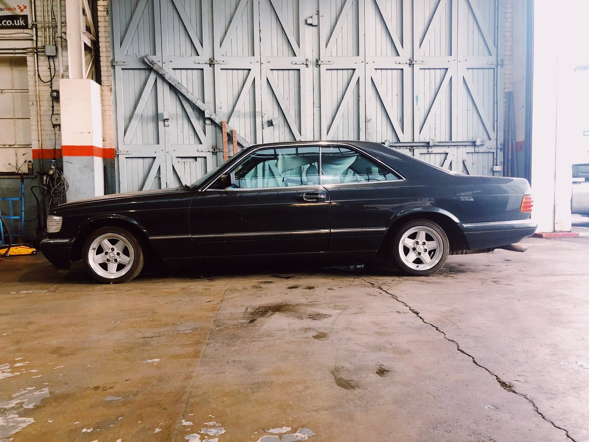 1990 Mercedes Benz 500 SEC For Sale (picture 5 of 6)