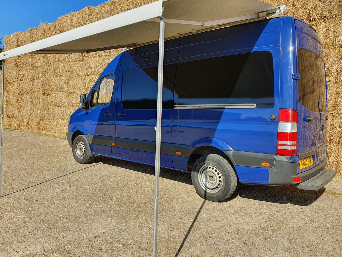 2010 Mercedes Sprinter MWB Motox, Karting, Cycling Race Van, Prof For Sale (picture 1 of 6)