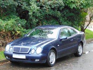 Mercedes CLK320 Elegance Auto.. Genuine 39,350 Miles.. FSH.. SOLD