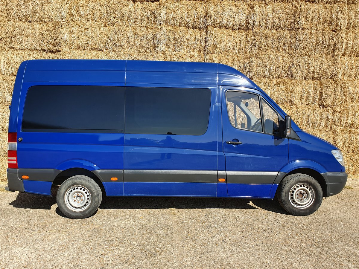 2010 Mercedes Sprinter MWB Motox, Karting, Cycling Race Van, Prof For Sale (picture 2 of 6)