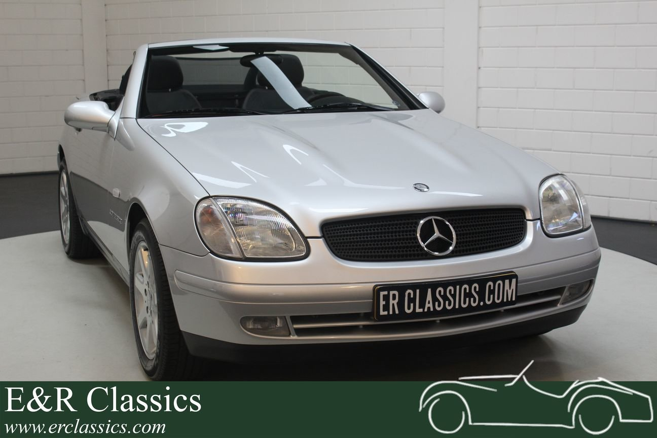 Mercedes-Benz SLK 200 2002 only 86,566 km For Sale (picture 1 of 6)