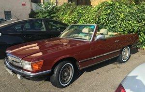 1984 Mercedes 380SL - undergone a major restoration For Sale