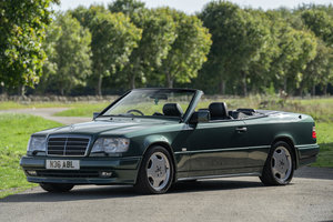 1996 Mercedes E36 AMG Cabriolet - UK RHD 3 Owners 29k miles For Sale