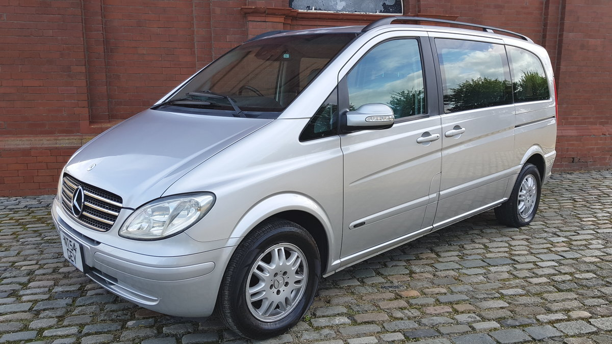 2004 MERCEDES-BENZ VIANO AMBIENTE 3.2 V6 AUTOMATIC * FULL LEATHER For Sale (picture 1 of 6)