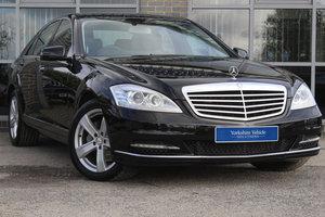 2012 62 MERCEDES-BENZ S CLASS 3.0 S350 CDI BLUETEC AUTO