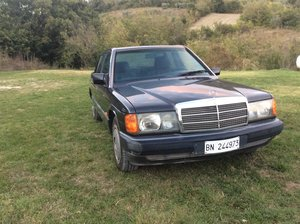 1991 Mercedes 190E 2.0left hand drive For Sale