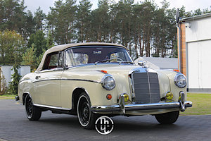 1960 Mercedes 220SE Hydrak Cab. 1 of 20 produced!
