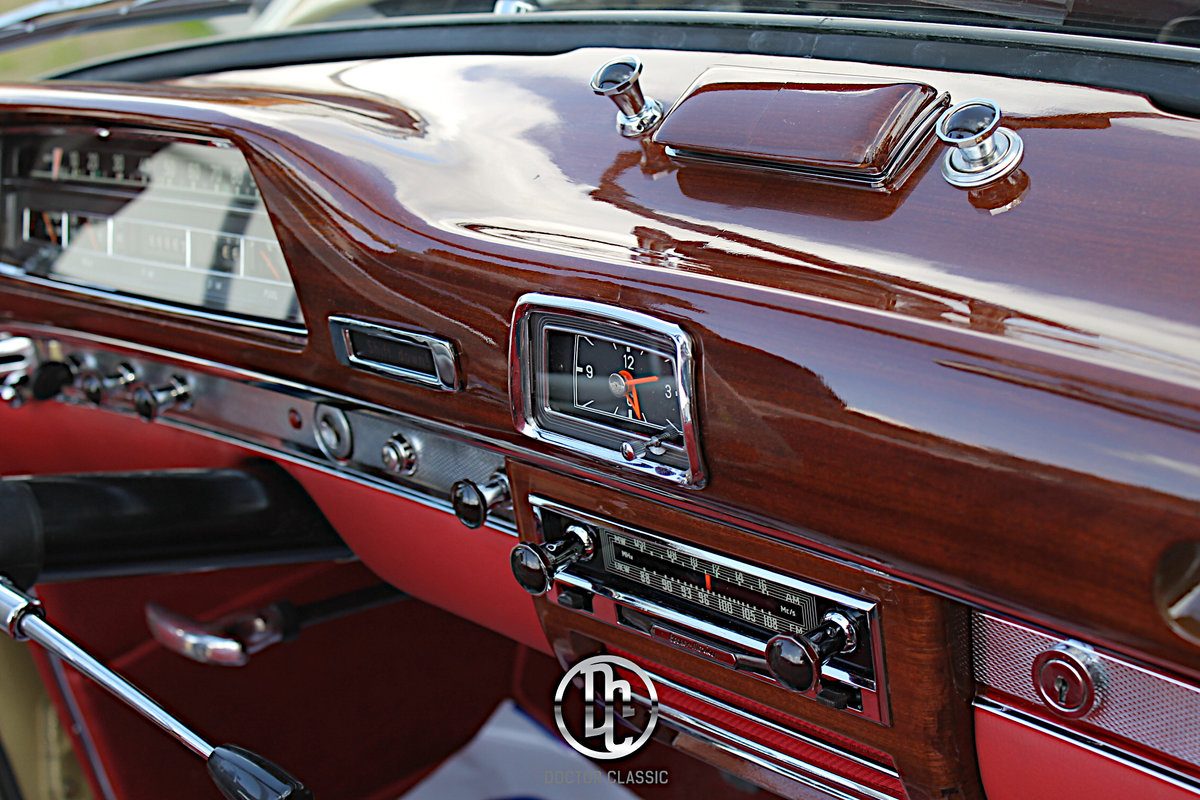 1960 Mercedes 220SE Hydrak Cab. 1 of 20 produced! RESTORED For Sale (picture 4 of 6)