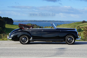 1954 Mercedes W186 300 Adenauer Cabriolet For Sale